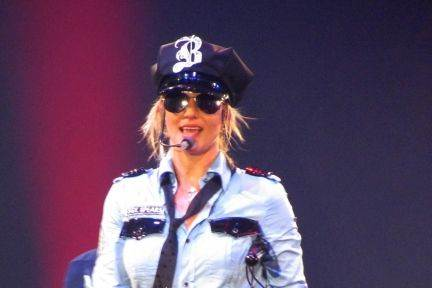 Britney Spears fra Circus-touren