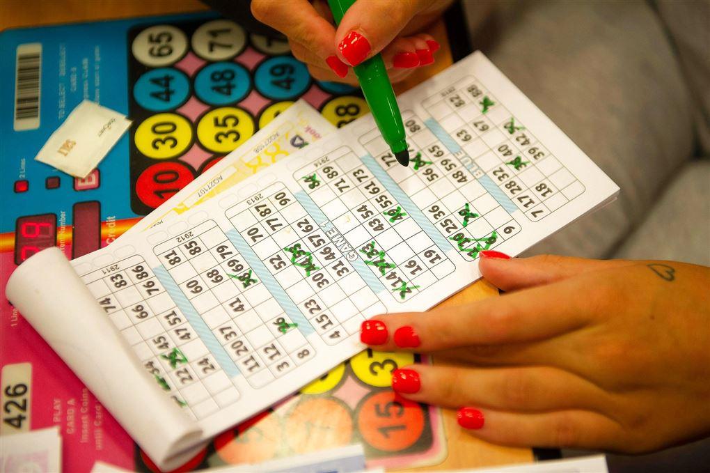 Bingo spilleplade