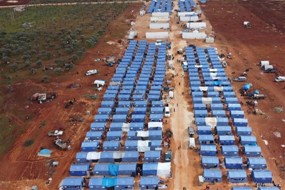 FN advarer om kampe tæt på Idlibs flygtninge