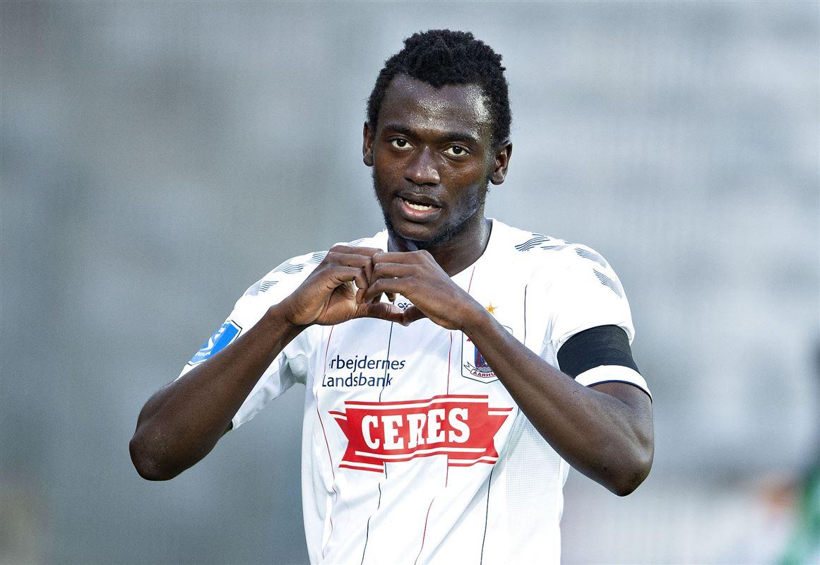 fodboldspilleren Mustapha Bundu fra AGF