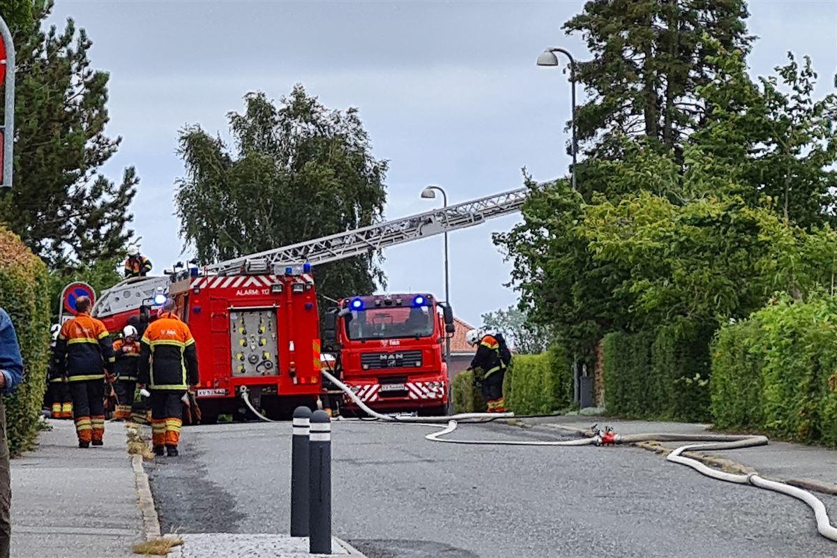 Band og eksplosion i Svendborg