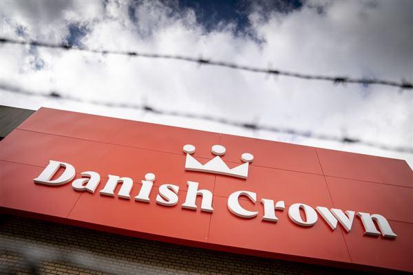 Billede af Danish Crown skilt