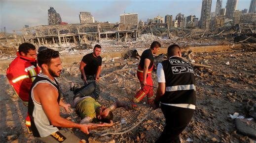Eksplosion i Beirut