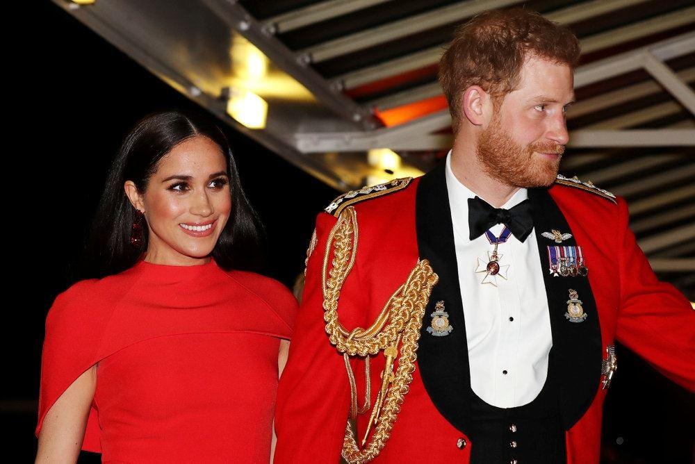 Hertuginde Meghan og prins Harry af Storbritannien