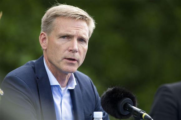 Dansk Folkepartis formand Kristian Thulesen Dahl