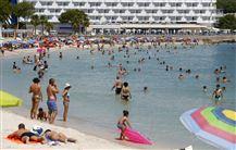 Strand på Mallorca