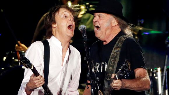 Neil Young og Paul McCartney