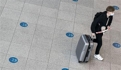 passager i Københavns Lufthavn