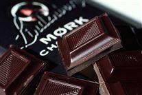 Mørk chokolade i papir