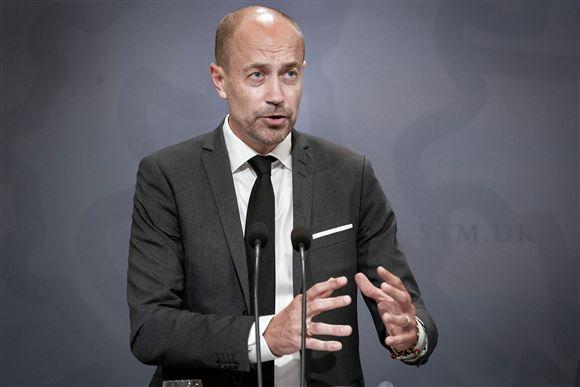 Sundhedsminister Magnus Heunicke