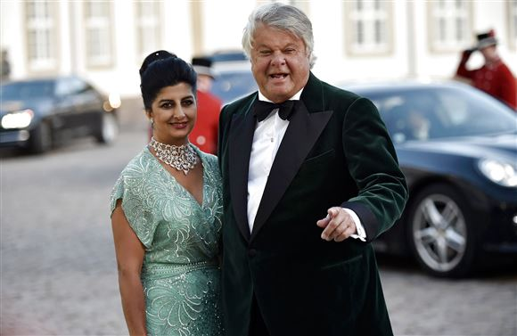 Christian Kjær og Susan Astani Kjær