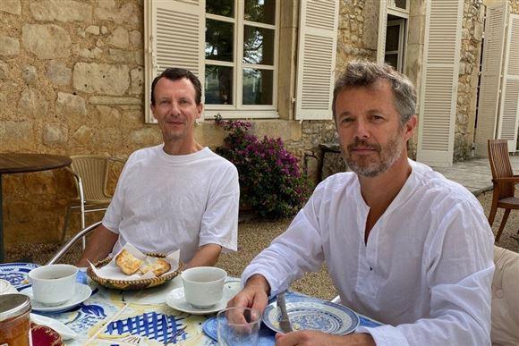 Prins Joachim kronprins Frederik Cayx morgenmad