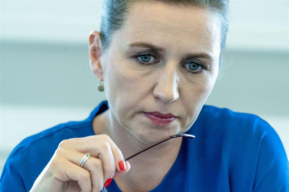 Statsminister Mette Frederiksen (S)