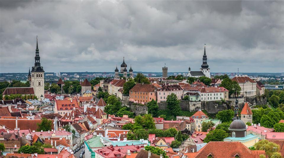 Den gamle bydel i Talllinn, Estland