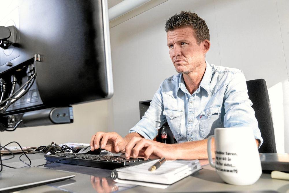 Nodrdjyskes afdøde chefredaktør Søren Christensen