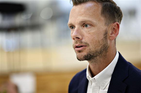 Portræt billede af beskæftigelsesminister Peter Hummelgaard