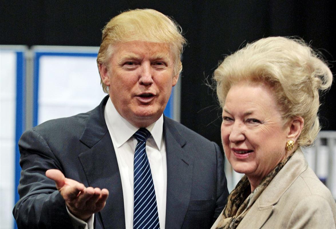 Donald Trump og Maryanne Trump Barry