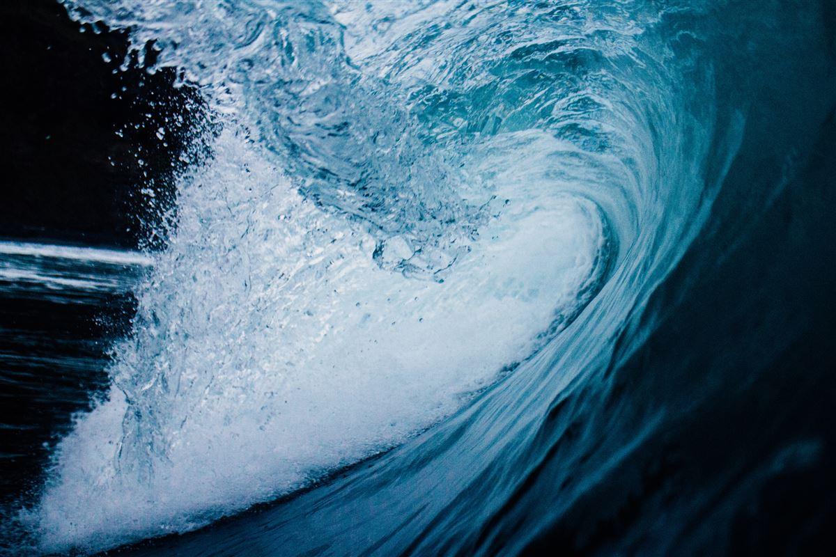 En kæmpe bølge