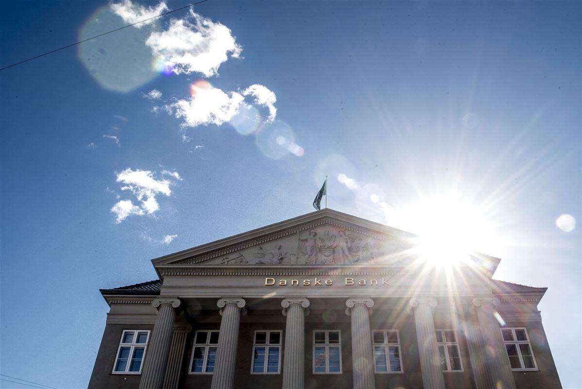 Billede af hovedkvarteret Danske Bank på Kongens Nytorv