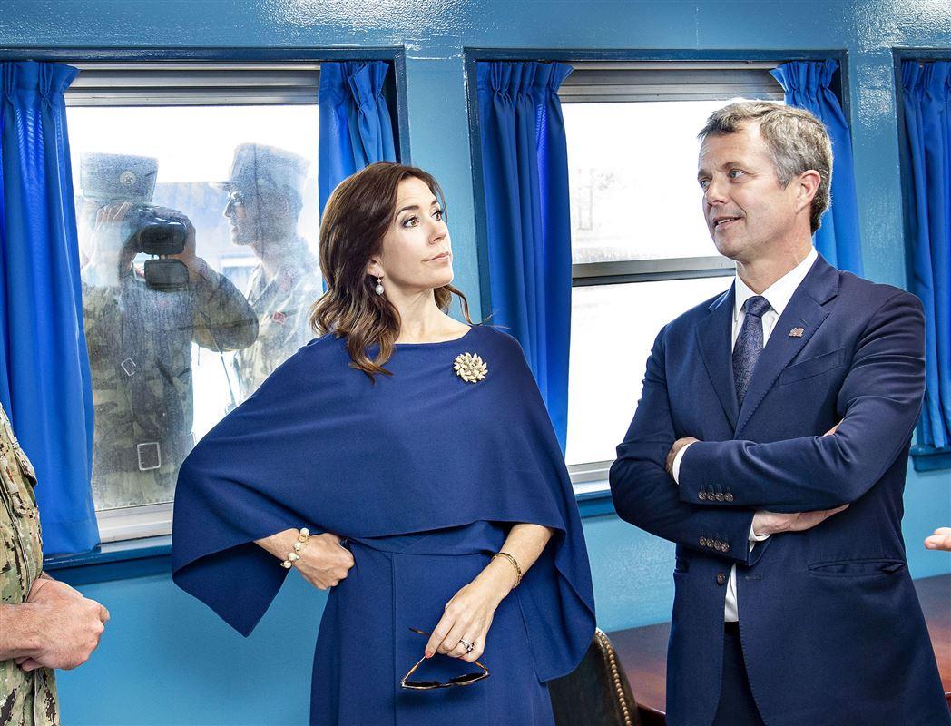 Kronsprinsparret Mary og Frederik på besøg i Sydkorea
