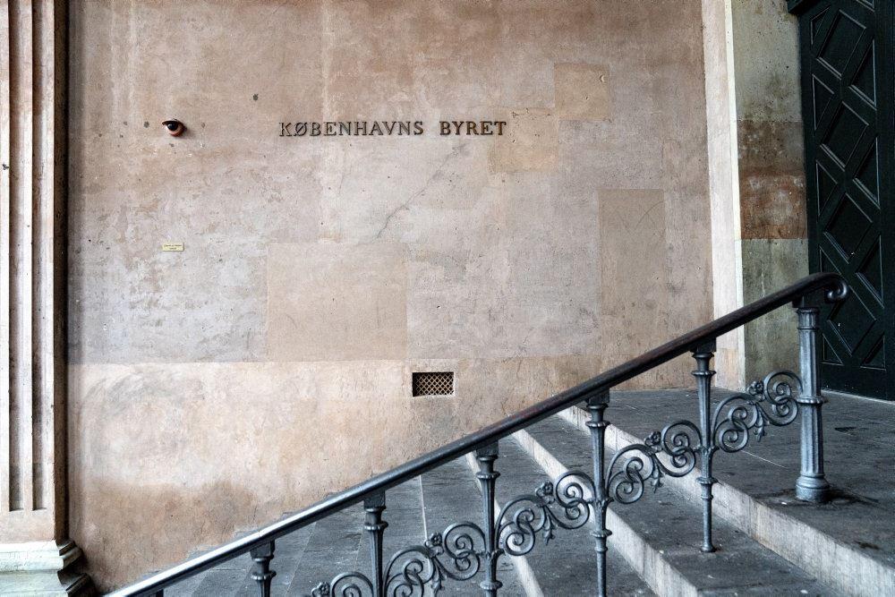 Indgangen til Københavns Byret