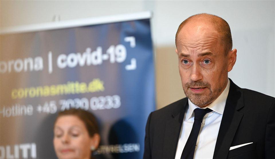 Sundheds- og ældreminister Magnus Heunicke (S)