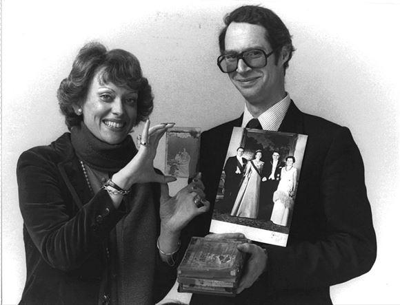 Billede af Prins Waldemar og prinsesse Anne-Lise