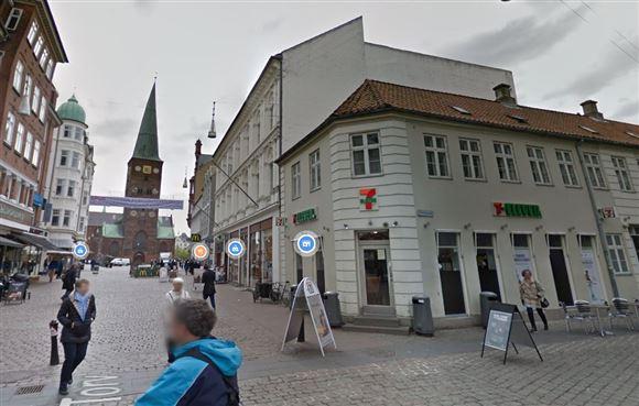 billede af butikken
