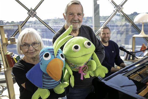 Kaj og Andrea  Hanne Villumsen og Kjeld Nørgaard