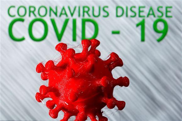 3d-model af Corona-virus