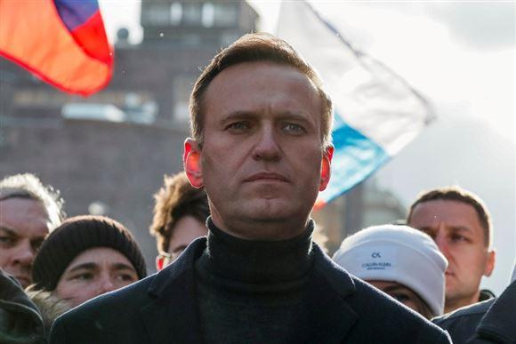 Den russiske oppositionspolitiker Aleksej Navalnyj