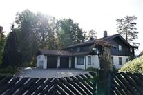 den norske millardær Tom Hagens hus i Lørenskog ved Oslo