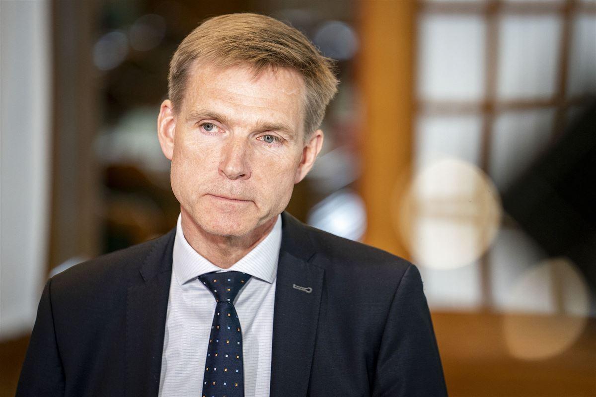 Kristian Thulesen Dahl portræt med mørkt slips.