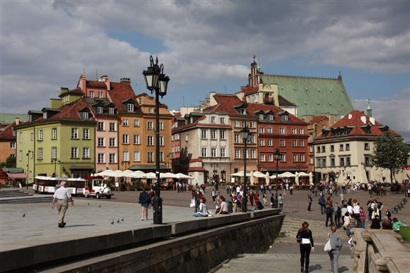 Old town i Warszawa