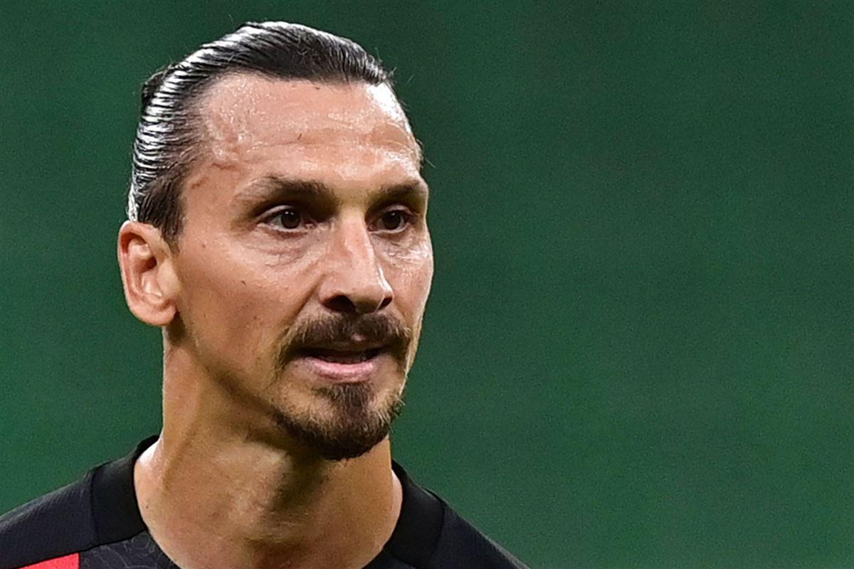 Nærbillede af Zlatan Ibrahimovic