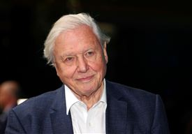 Den britiske tv-vært Sir David Attenborough