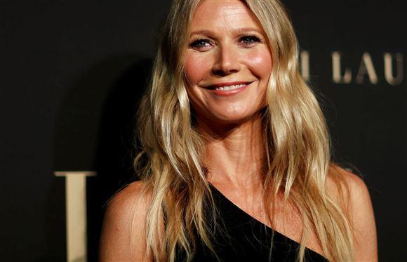 Den amerikanske skuespillerinde Gwyneth Paltrow smiler