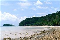 strand på den thailandske ø Koh Change