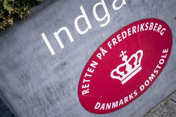 Indgang til retten på Frederiksberg