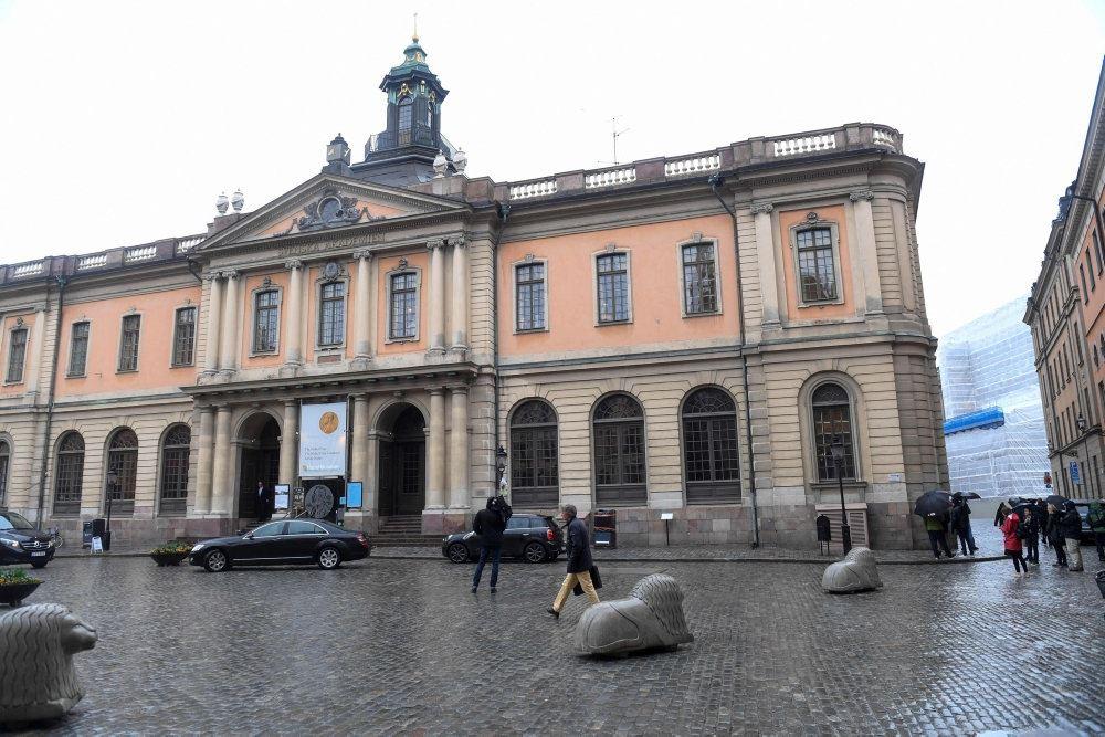 Bygning i Stockholm set udefra