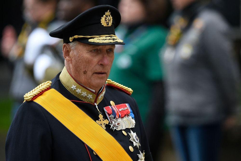 billede af kong Harald