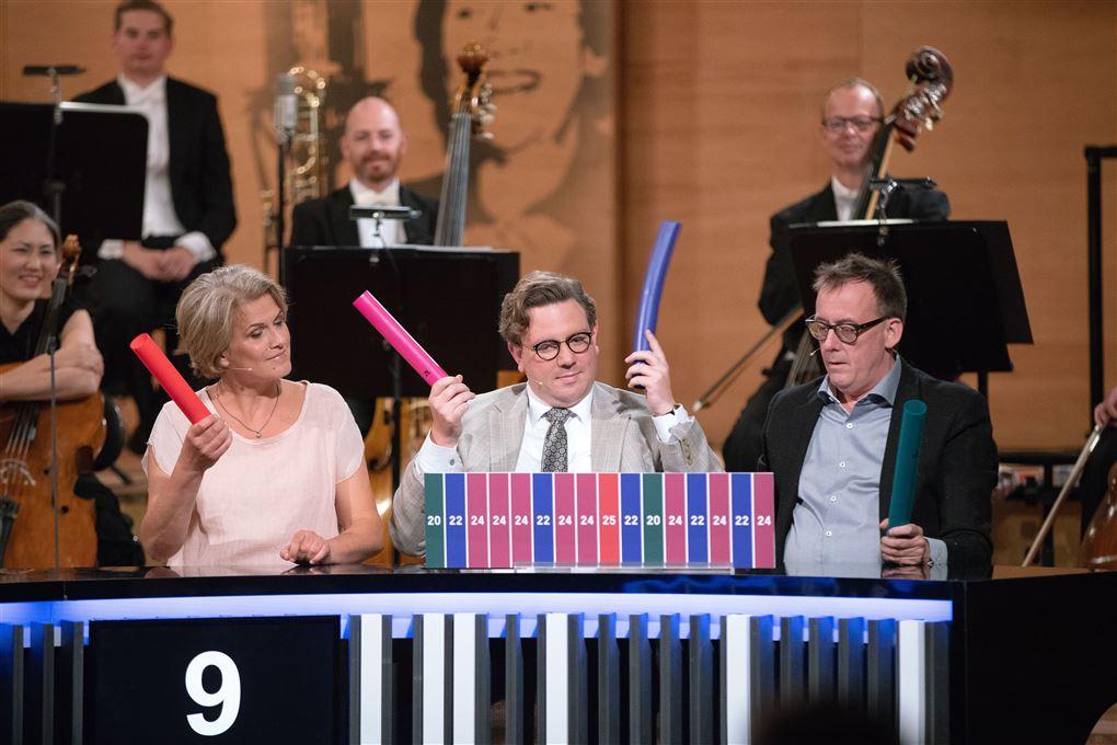 "Frederik Cilius Jørgensen i ""Den klassiske Musikquiz"""