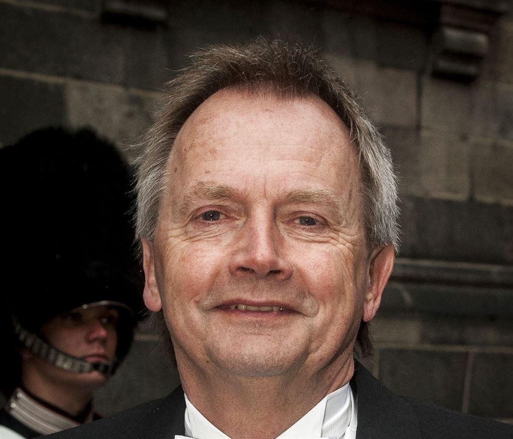 tidligere sekretariatsleder hos de radikal Anders Kloppenborg smiler til kameraet