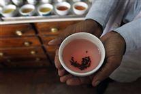 Billede af en kop te holdt af en hånd