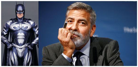 Batman og en skeptisk George Clooney