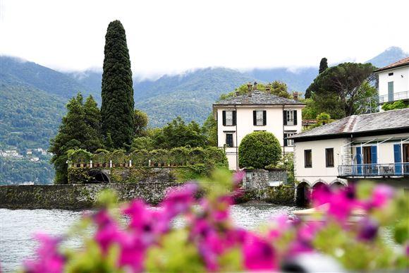 Clooney pragtvilla ved Como-søen