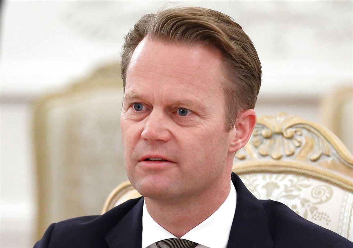 Jeppe Kofod portræt