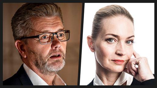 Frank Jensen og Annette Heick