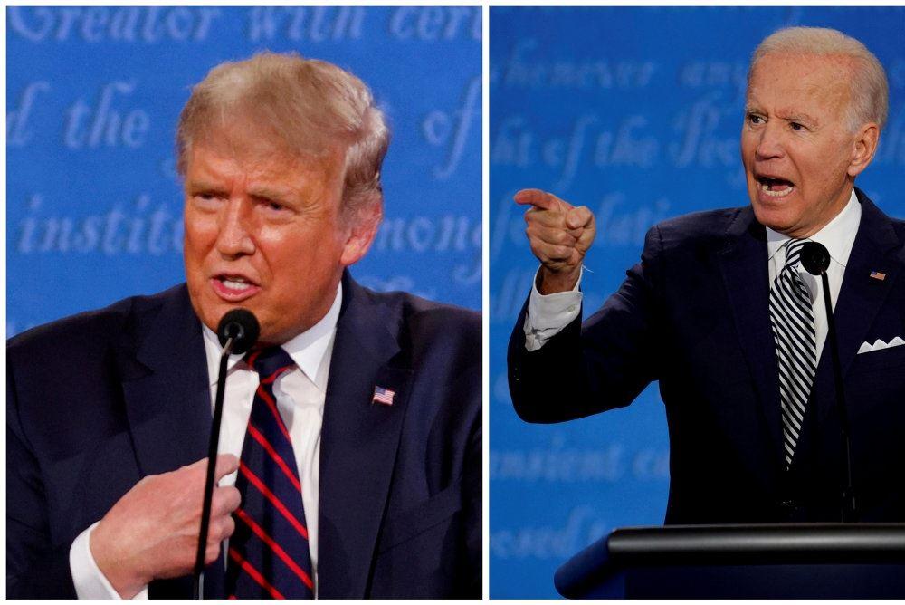 Donad Trump og Joe Biden