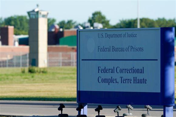 skilt foran fængsel i USA